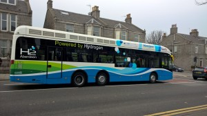 HYDROGEN POWERED CITY BUS