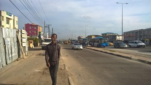 COMMUTTERS @ BUS RAPID TRANSIT STOP, FADEYI_IKORODU ROAD